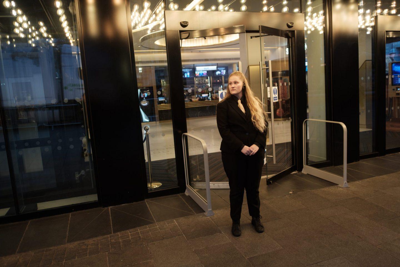 cinema entrance