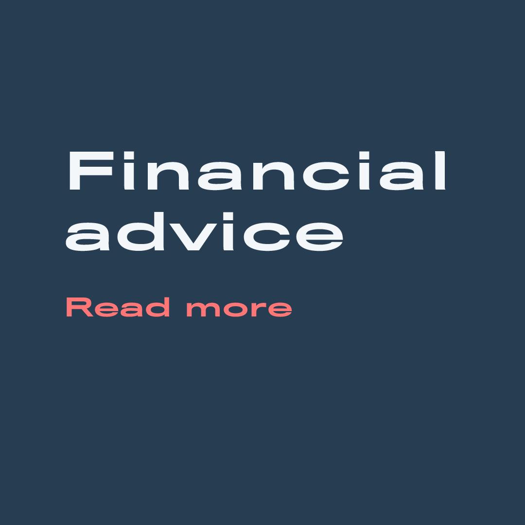 finance Advice Covid 19