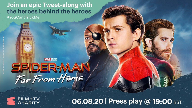 Spider-Man tweet-along image