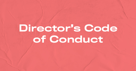 Director's Code of Conduct